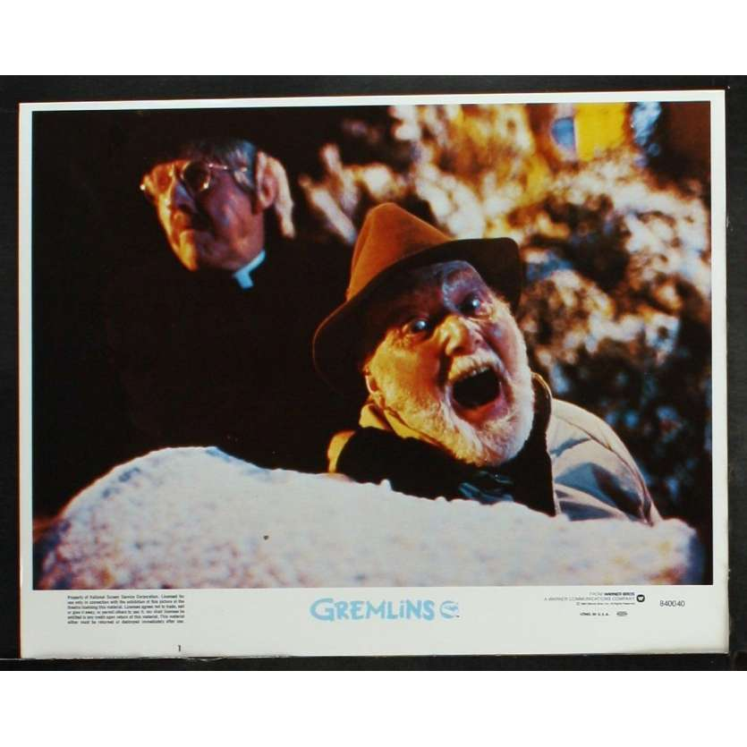 GREMLINS Photo de film 1 28x36 - 1984 - Zach Galligan, Joe Dante
