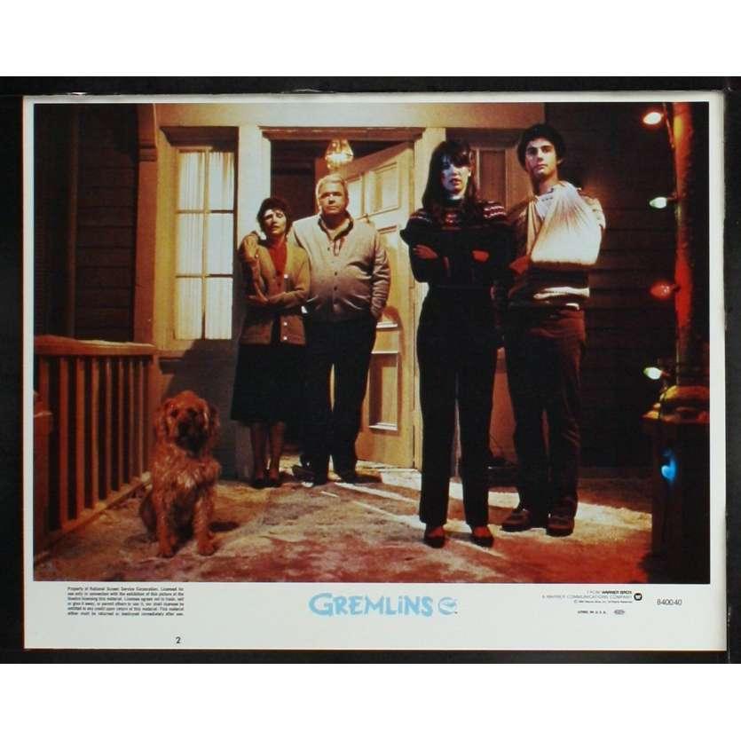 GREMLINS US Lobby Card 3 11x14 - 1984 - Joe Dante, Zach Galligan