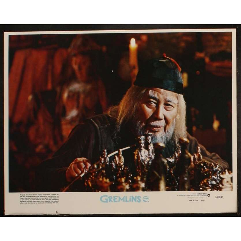 GREMLINS Photo de film 5 28x36 - 1984 - Zach Galligan, Joe Dante