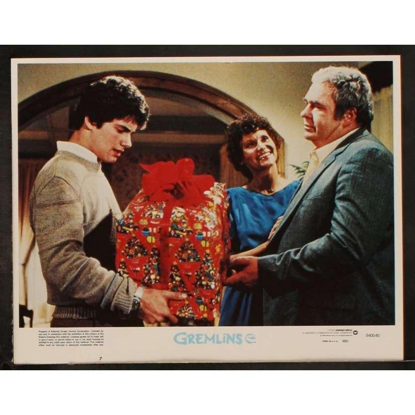 GREMLINS US Lobby Card 6 11x14 - 1984 - Joe Dante, Zach Galligan