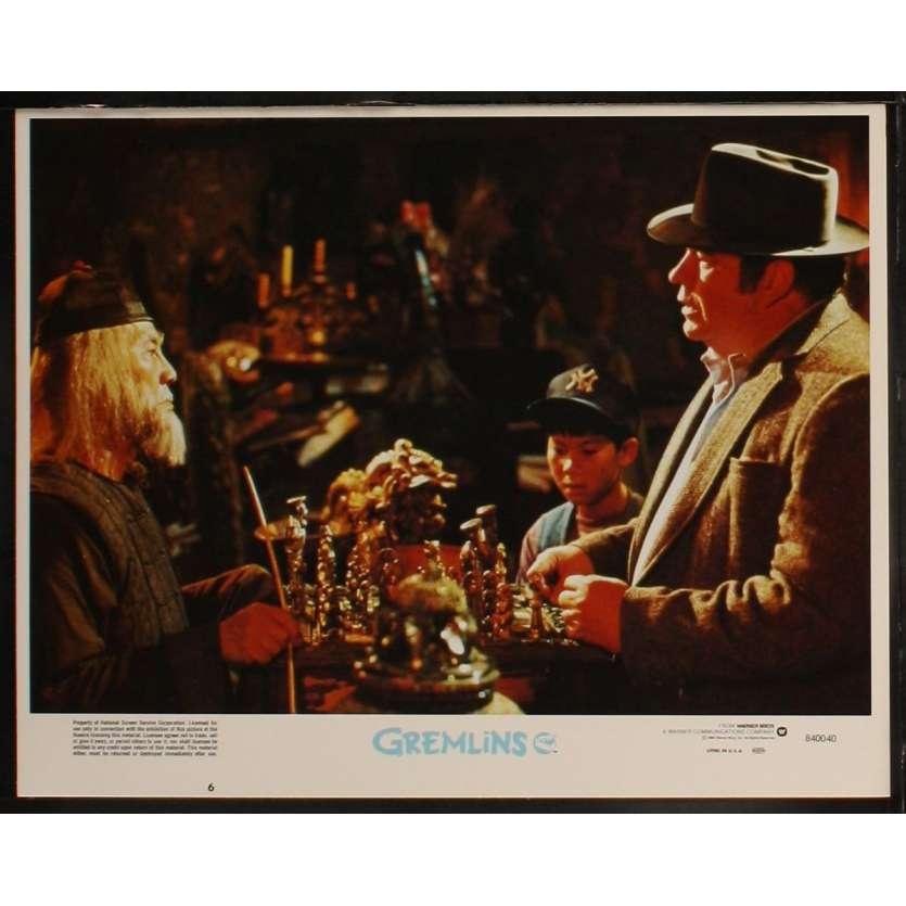 GREMLINS US Lobby Card 7 11x14 - 1984 - Joe Dante, Zach Galligan