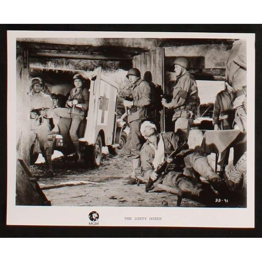 DIRTY DOZEN US Still 7 8x10 - 1967 - Robert Aldrich, Lee Marvin