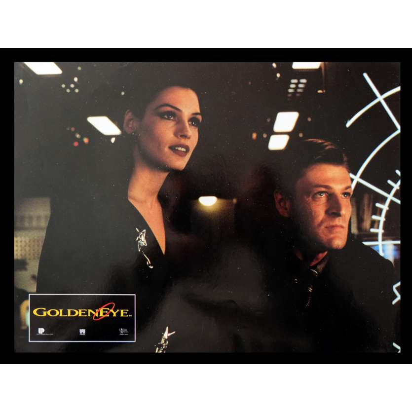 GOLDENEYE French Lobby Card 4 9x12 - 1995 - Martin Campbell, Pierce Brosnan