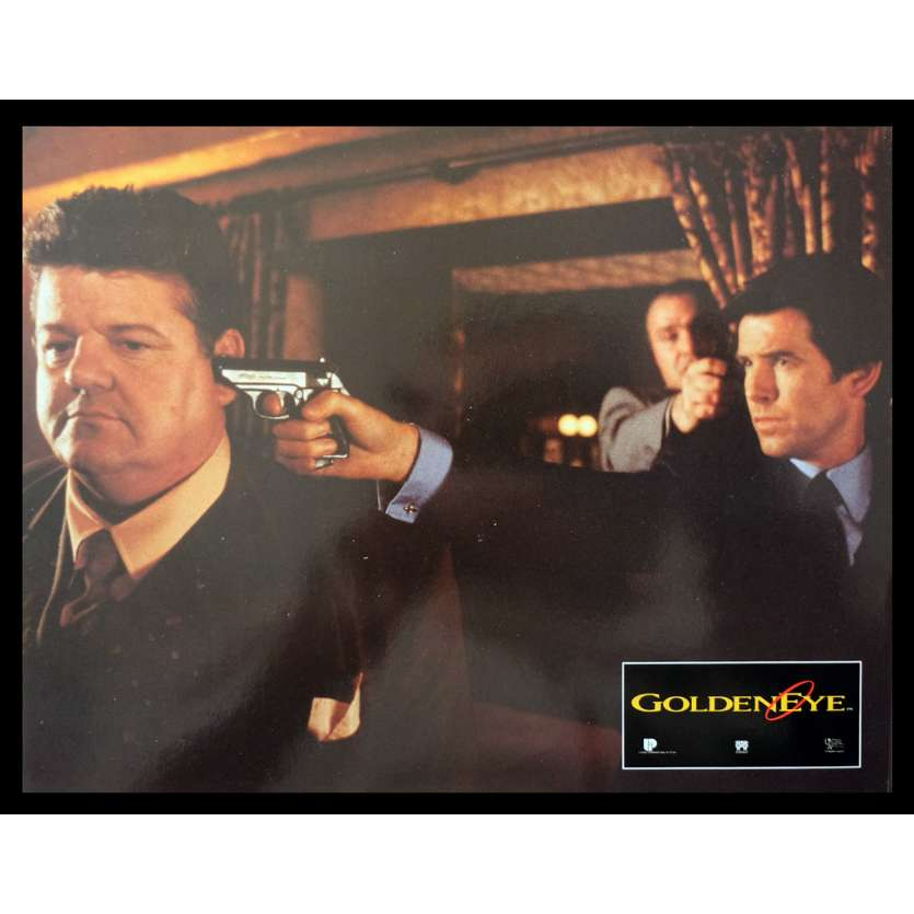 GOLDENEYE French Lobby Card 9 9x12 - 1995 - Martin Campbell, Pierce Brosnan