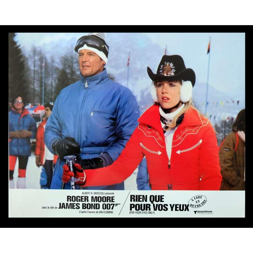 RIEN QUE POUR VOS YEUX Photo 3 21x30 - 1983 - Roger Moore, John Glen
