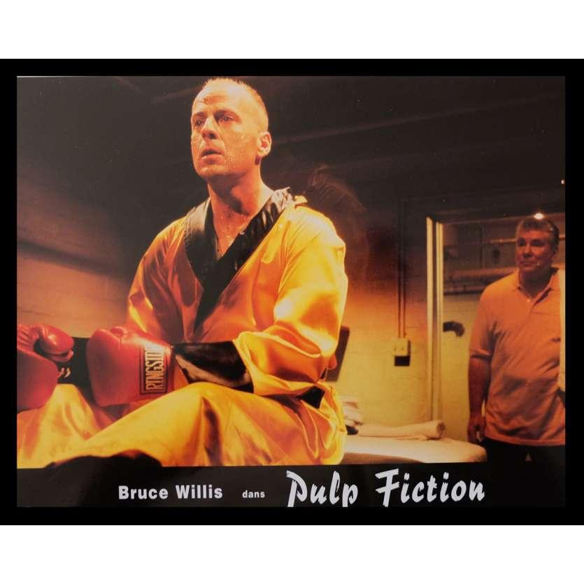 PULP FICTION French Lobby Card 3 9x12 - 1994 - Quentin Tarantino, Uma Thurman