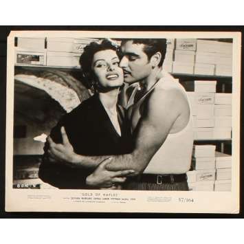 GOLD OF NAPLES US Still 8x10 - 1954 - Vittorio de Sica, Sophia Loren