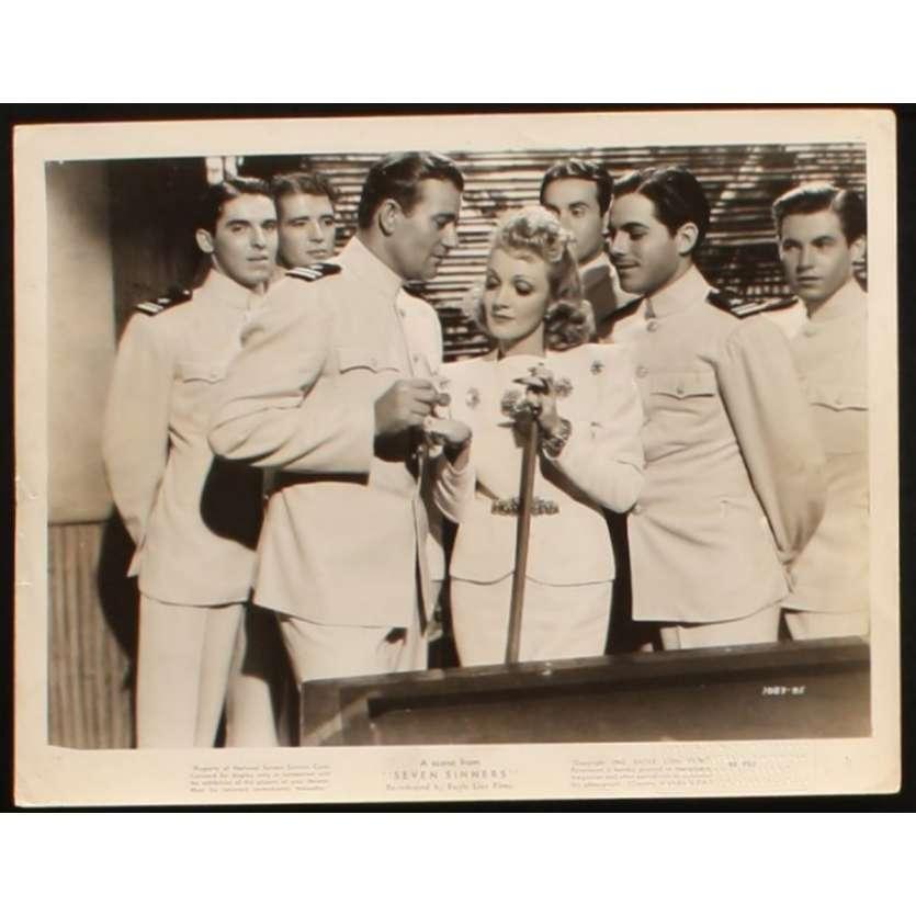 LA MAISON DES SEPT PECHES Photo de presse 2 20x25 - 1940 - Marlene Dietrich, Tay Garnett