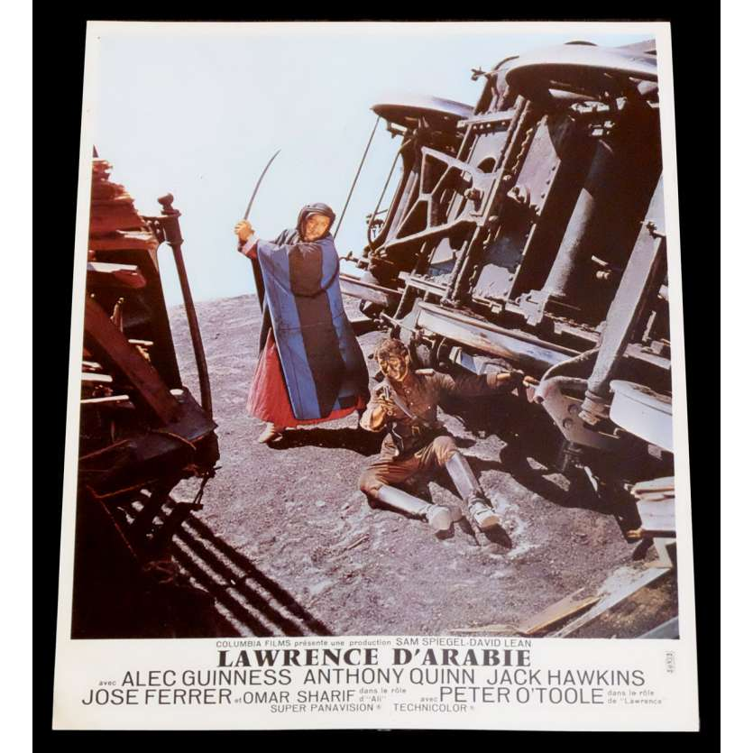 LAWRENCE OF ARABIA French Lobby Card 1 9x12 - R1971 - David Lean, Peter O'Toole