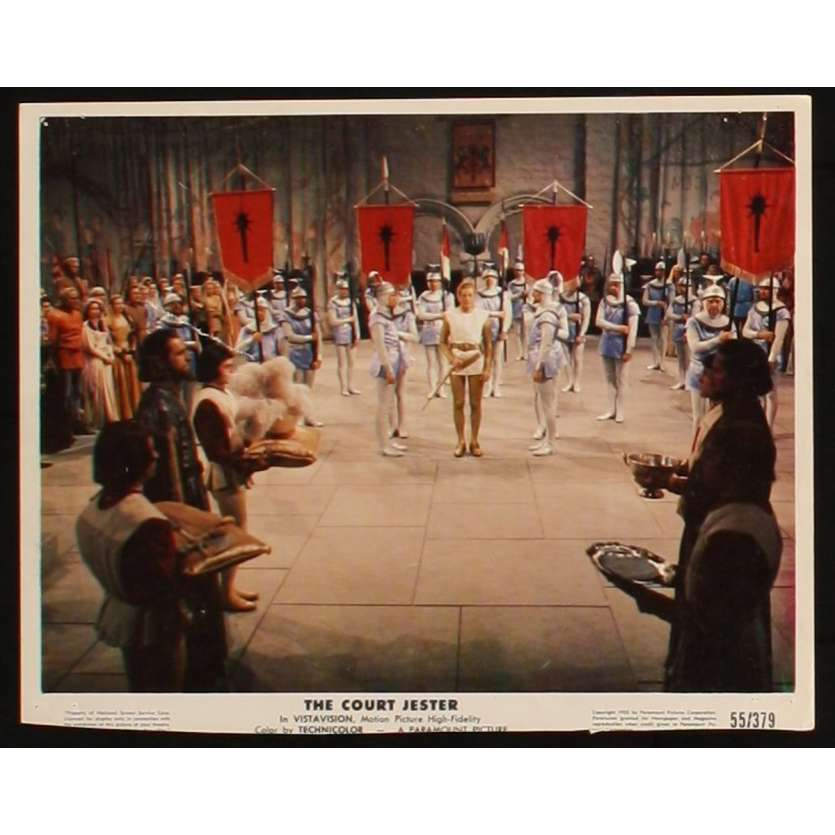 LE BOUFFON DU ROI Photo de film 3 20x25 - 1955 - Danny Kaye, Melvin Franck