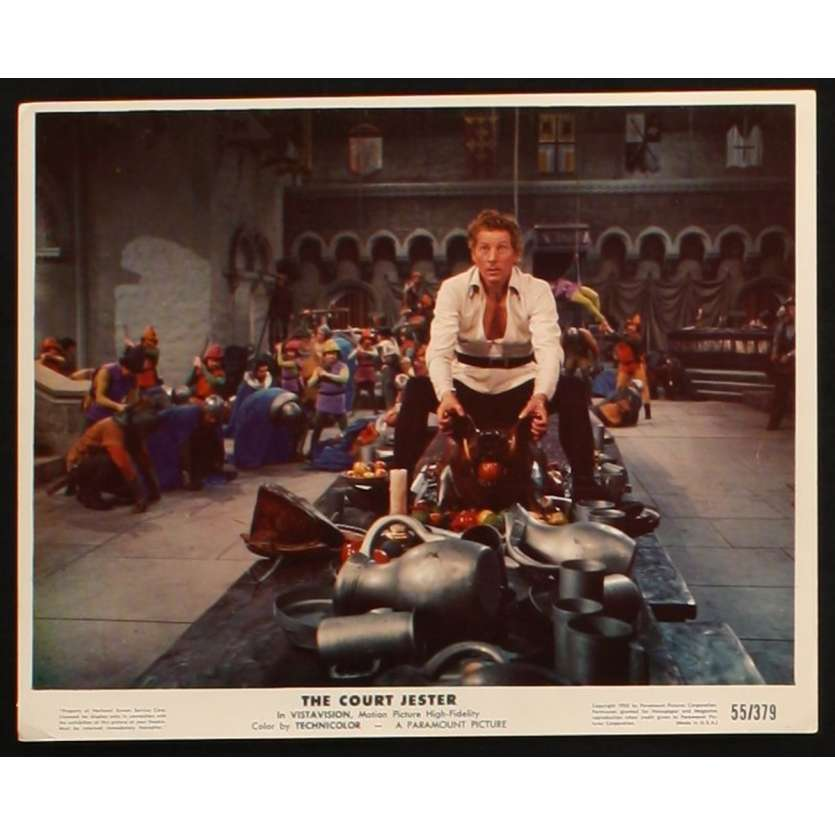 LE BOUFFON DU ROI Photo de film 1 20x25 - 1955 - Danny Kaye, Melvin Franck