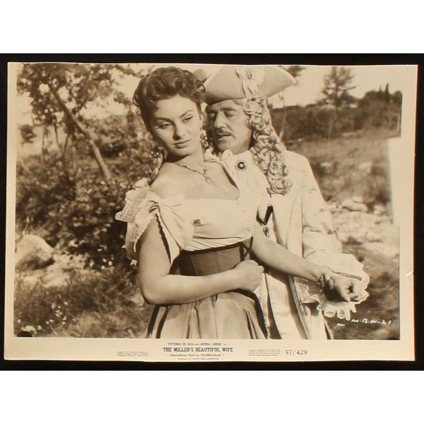 PAR DESSUS LES MOULINS Photo de presse 2 20x25 - 1955 - Sophia Loren, Mario Camerini