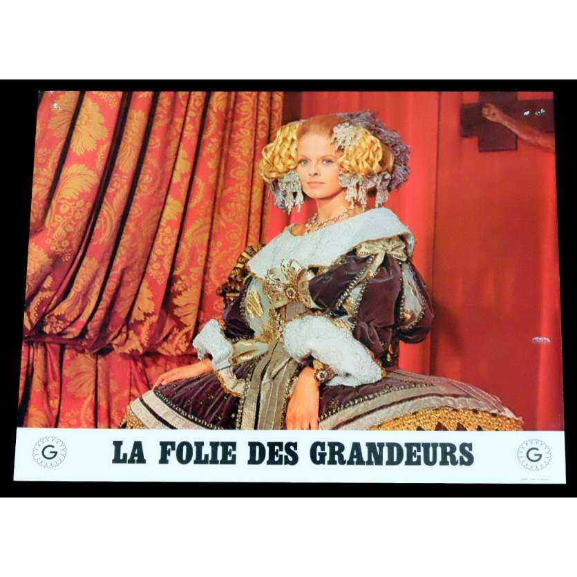 DELUSIONS OF GRANDEUR French Lobby Card 4 9x12 - 1971 - Gerard Oury, Louis de Funes