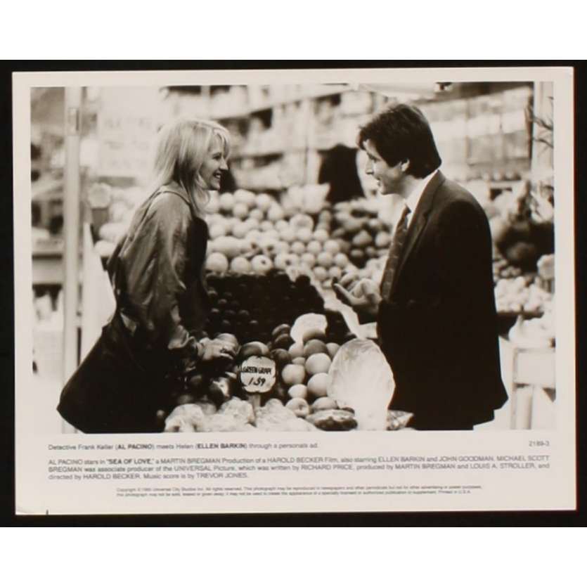 SEA OF LOVE US Movie Still 2 8x10 - 1989 - Harold Becker, Al Pacino