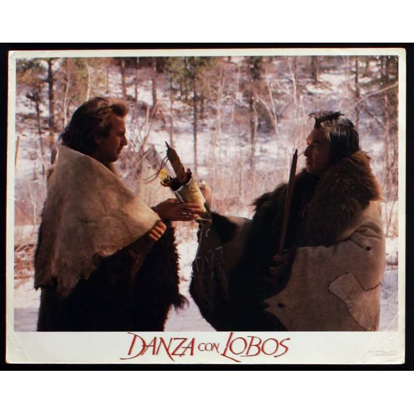 DANSE AVEC LES LOUPS Photo de film 3 28x36 - 1990 - Kevin Costner, Kevin Costner