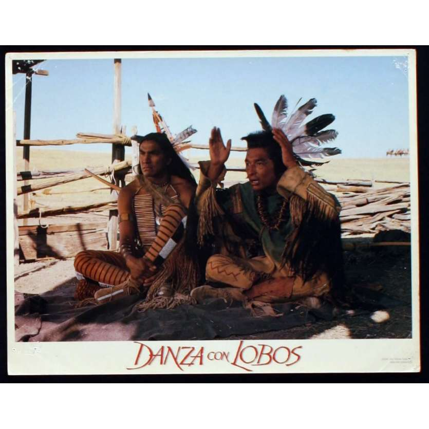 DANCES WITH WOLVES US Lobby Card 4 11x14 - 1990 - Kevin Costner, Kevin Costner