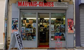 Le Magasin Mauvais Genres à Avignon en 2014