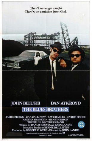 Affiche de film Blues Brothers de John Landis