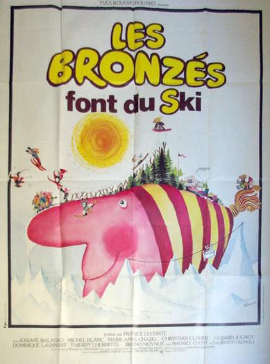 Affiche de film originale française de Les Bronzés font du ski