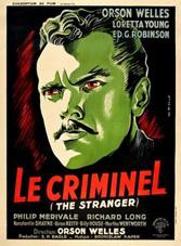 Affiche de Le Criminel de René Péron