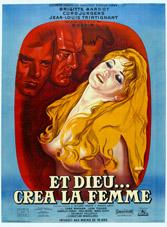 Affiche de et dieu créa la femme de René Péron
