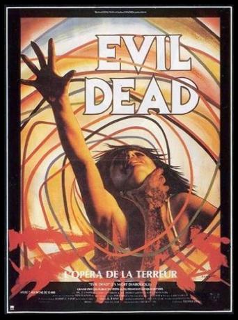 Affiche de film Evil Dead de Sam Raimi