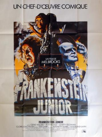 Affiche de film Frankenstein Junior