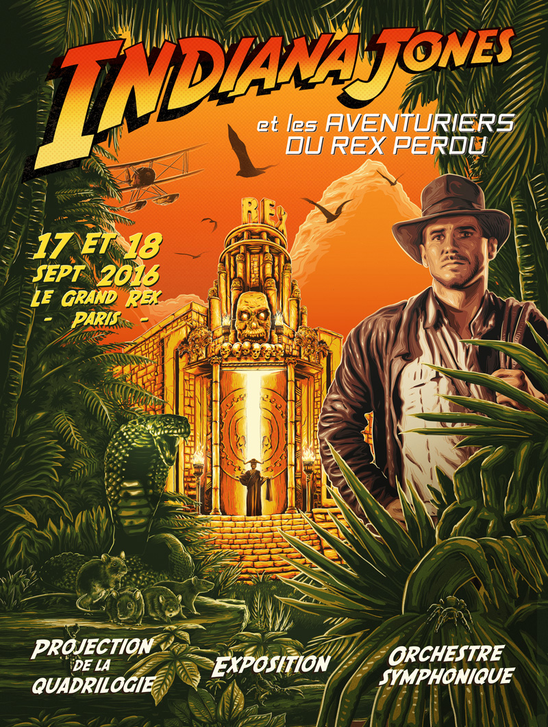 Indiana Jones au Grand Rex