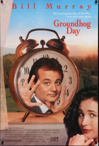 Affiche de film Un Jour sans Fin avec Bill Murray