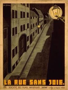 La Rue sans joie de Boris Bilinsky