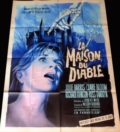 Affiche cinema originale francaise de La Maison du Diable