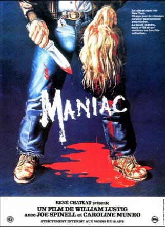 Affiche de Maniac de Lustig