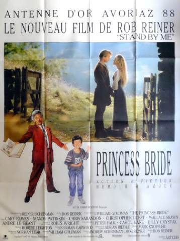 The Princess Bride original vintage french movie poster