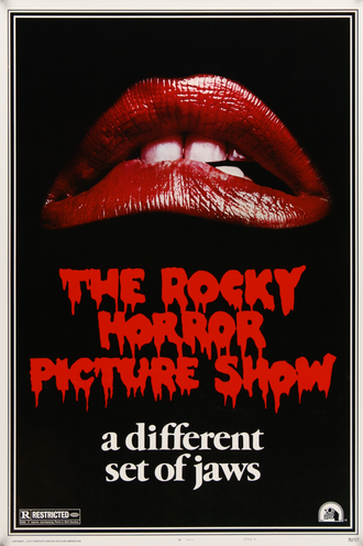 Rocky Horror Picture Show vintage american movie poster