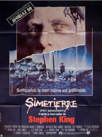 Affiche de film originale française de Simetierre