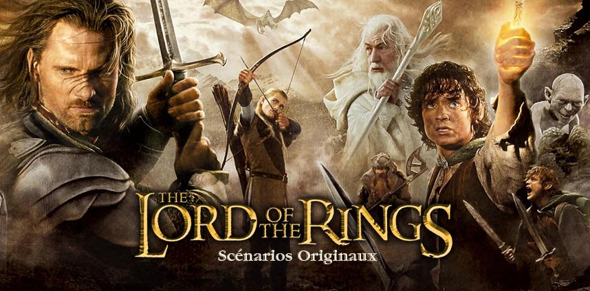 Scénario original du seigneur des anneaux
