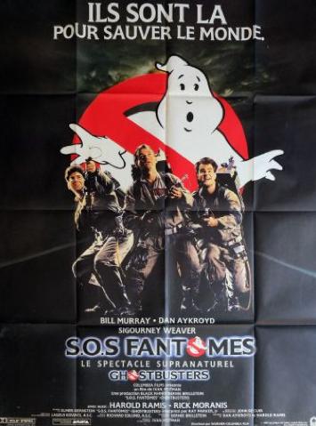 Affiche de film Ghostbusters de Ivan Reitman