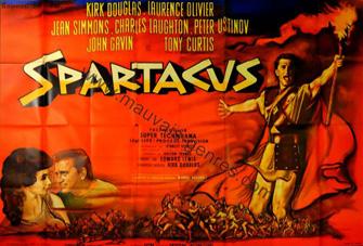 Affiche de Spartacus de René Péron