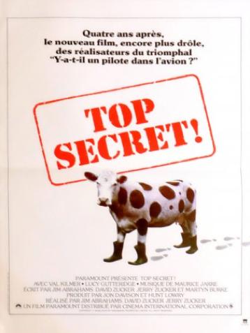 Affiche de film française Top Secret