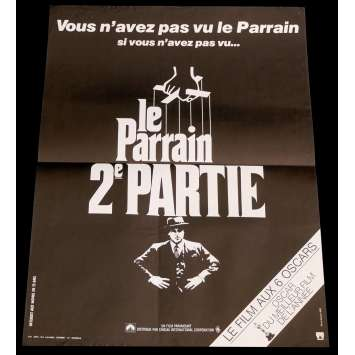 THE GODFATHER 2 French Movie Poster 15x21 - 1974 - Francis Ford Coppola, Robert de Niro