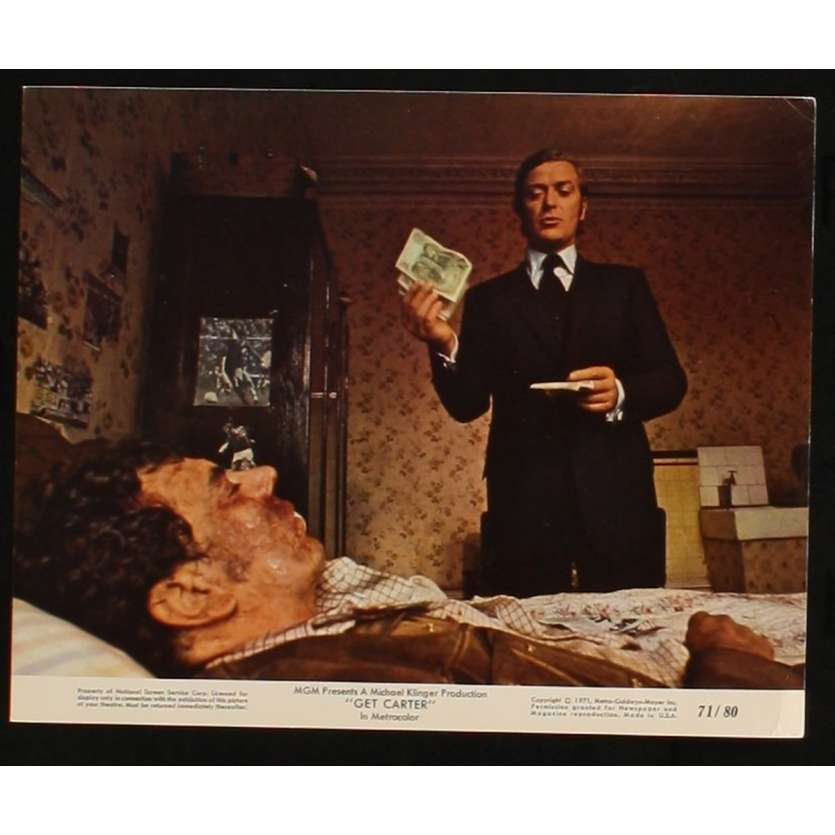 GET CARTER US Movie Still 5 8x10 - 1971 - Paul Hodges, Michael Caine