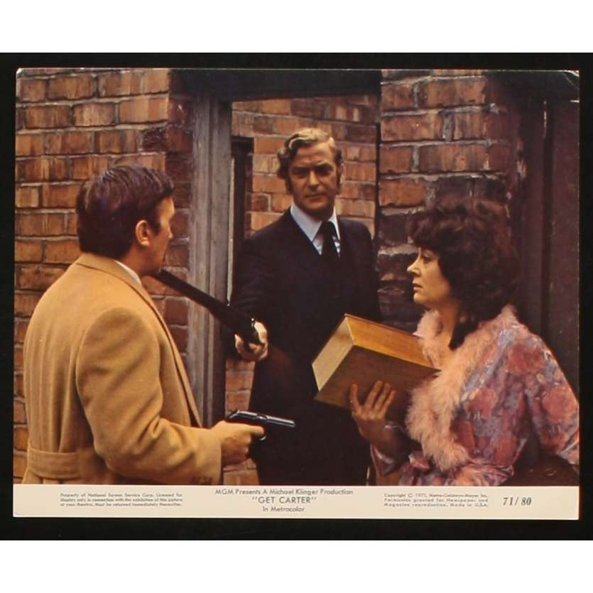 GET CARTER US Movie Still 4 8x10 - 1971 - Paul Hodges, Michael Caine