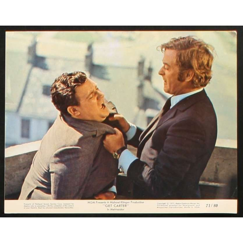 GET CARTER US Movie Still 2 8x10 - 1971 - Paul Hodges, Michael Caine