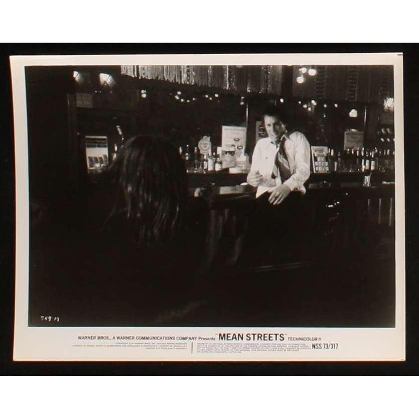 MEAN STREETS US Movie Still 7 8x10 - 1973 - Martin Scorcese, Robert De Niro