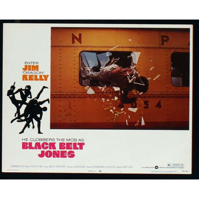 BLACK BELT JONES US Movie Still 6 11x14 - 1974 - Robert Clouse, Jim Kelly