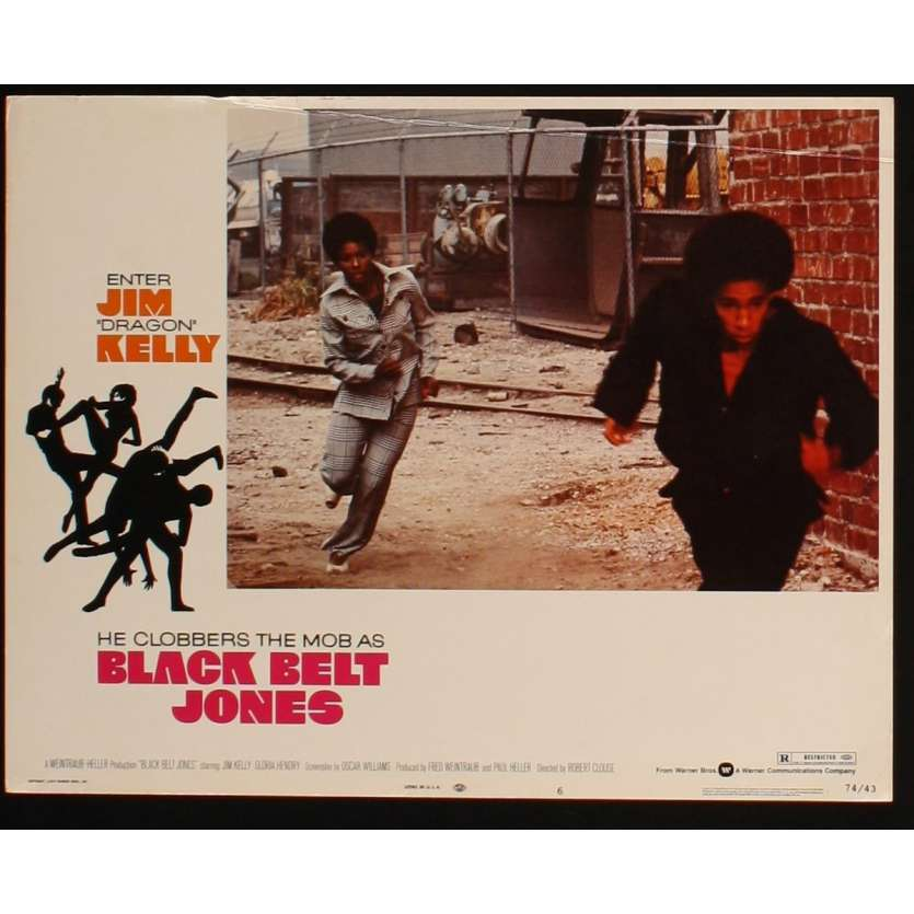 LA CEINTURE NOIRE Photo de film 5 28x36 - 1974 - Jim Kelly, Robert Clouse