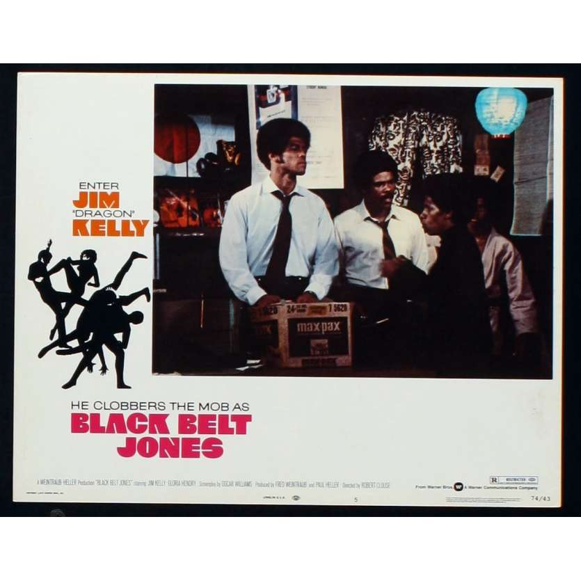 LA CEINTURE NOIRE Photo de film 4 28x36 - 1974 - Jim Kelly, Robert Clouse