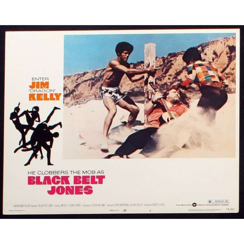 BLACK BELT JONES US Movie Still 1 11x14 - 1974 - Robert Clouse, Jim Kelly