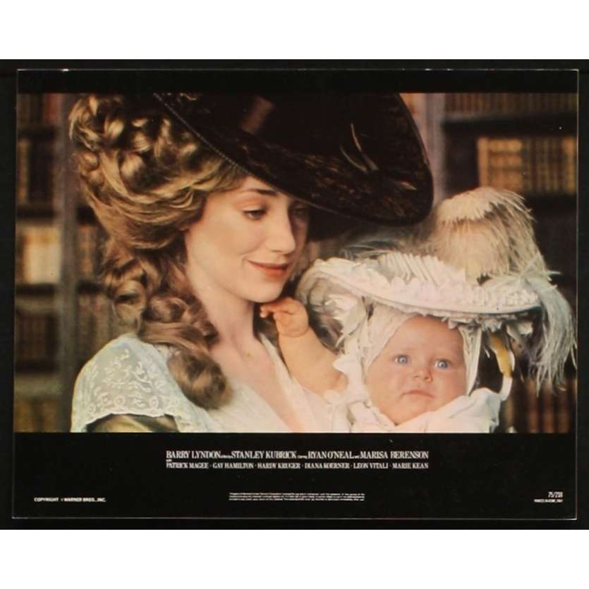 BARRY LYNDON US Movie Still 1 8x10 - 1975 - Stanley Kubrick, Ryan O'Neal