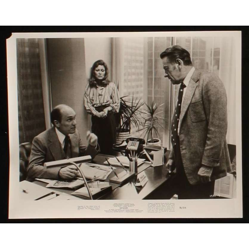 NETWORK US Movie Still 3 8x10 - 1976 - Sidney Lumet, Faye Dunaway
